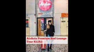 AirAsia Premium Red Lounge KLIA 2 tour