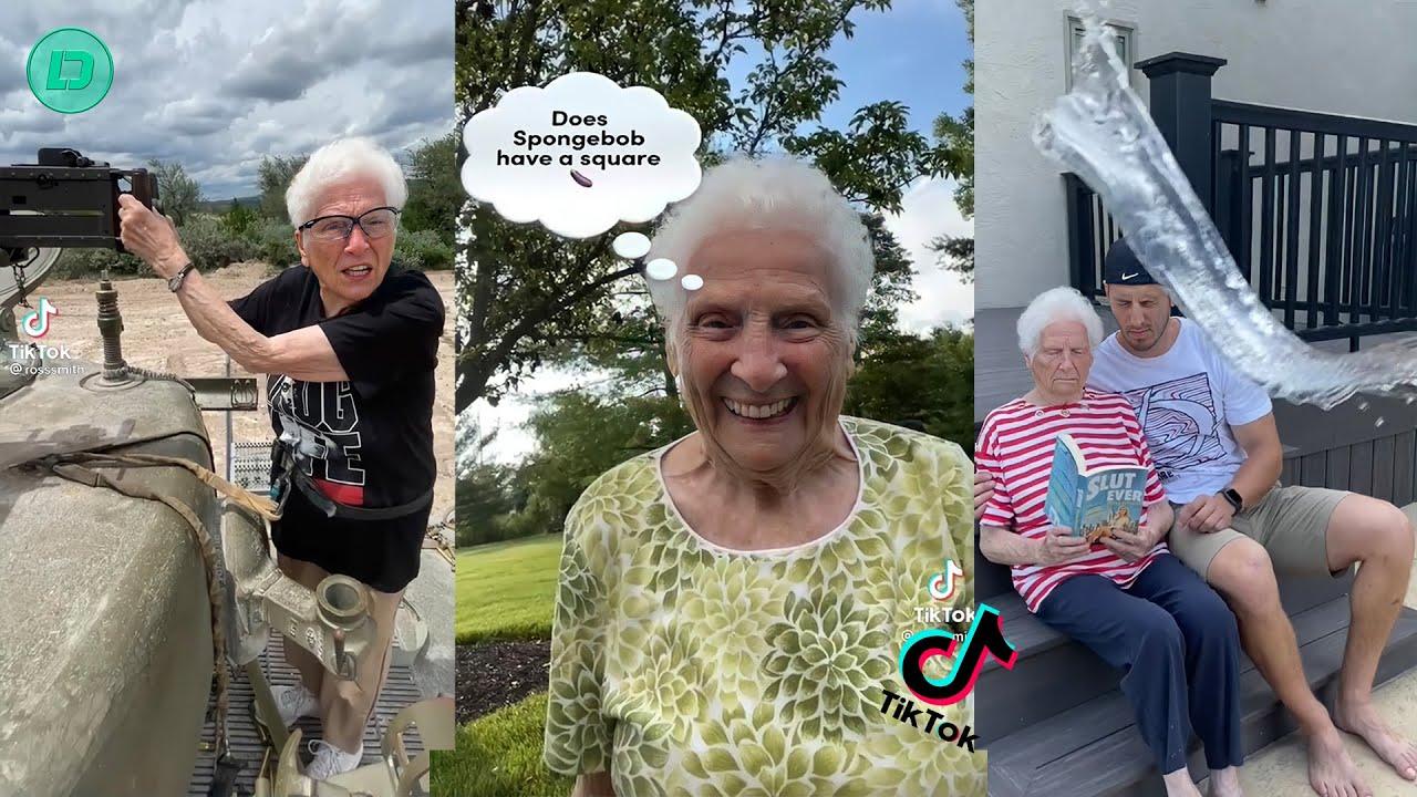 Ross Smith Grandma New TikTok Videos 2021   Smooth Smith Funny Videos 2021