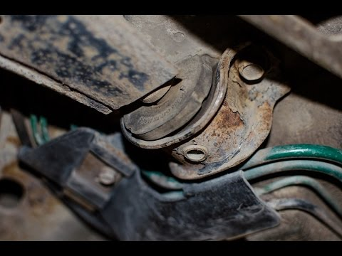 Задний сайлентблок переднего рычага Chevrolet Aveo. - YouTube