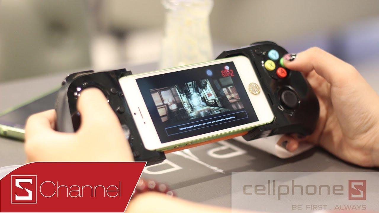 Schannel – Mở hộp tay cầm Moga Ace Power dành cho iPhone 5/5S – CellphoneS