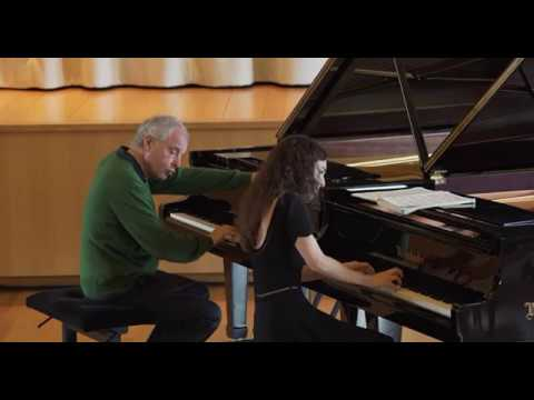 Masterclass with Andras Schiff - Julia Hamos performs Bach