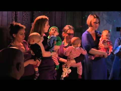 Lula Lula Lula Lula Bye Bye - Amazing Thula Mama mothers sing in concert with their babies