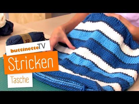 Anleitung Tasche Stricken Und Filzen Youtube