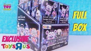 Five Nights At Freddys TRU Sister Location Funko Mystery Minis Exclusive Toy Review | PSToyReviews