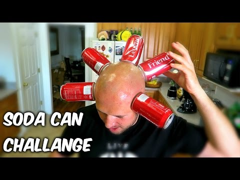 Thumbnail: Crazy Coke Can Challenge