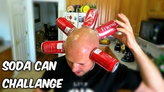 Crazy Coke Can Challenge
