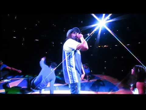 Lil Jon performs at Sacramento Kings