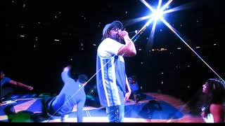 Lil Jon performs at Sacramento Kings
