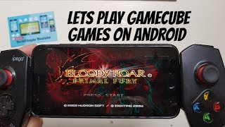 30FPS Dolphin Bloody Roar: Primal Fury Android Gameplay Gamecube games with Emulator/2017