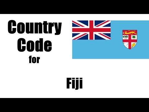 Fiji Dialing Code - Fijian Country Code - Telephone Area Codes in Fiji