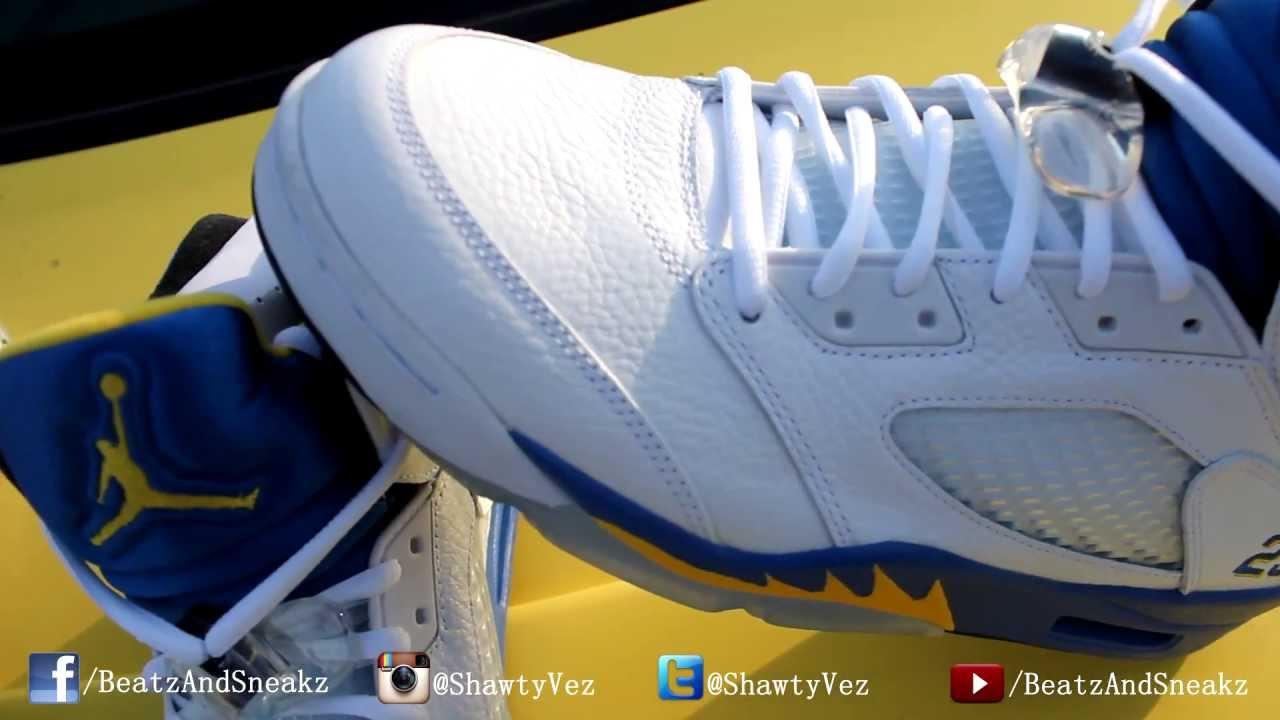 Air Jordan Retro 5 Lan...