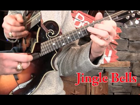 Jingle Bells on Mandolin Lesson!
