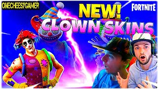 SPIDER-MAN PS4 PRO GIVEAWAY!! New Leaked Clown Skin Gameplay in Fortnite | Fortnite Battle Royale