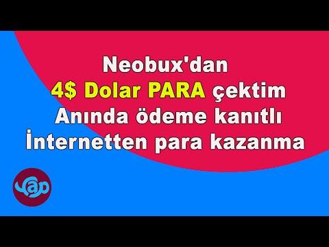 Neobux'dan 4$ Dolar Para çektim Anında ödeme Kanıtlı İnternetten Para Kazanma Videosu