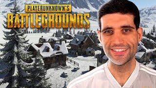 Primeiro Gameplay do NOVO Mapa da Neve de PUBG BATTLEGROUNDS