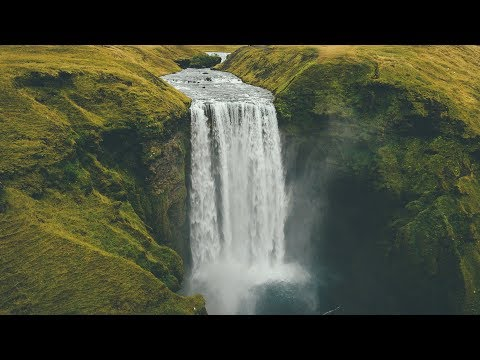 Iceland Travel Vlog - Skogafoss and Seljavallalaug