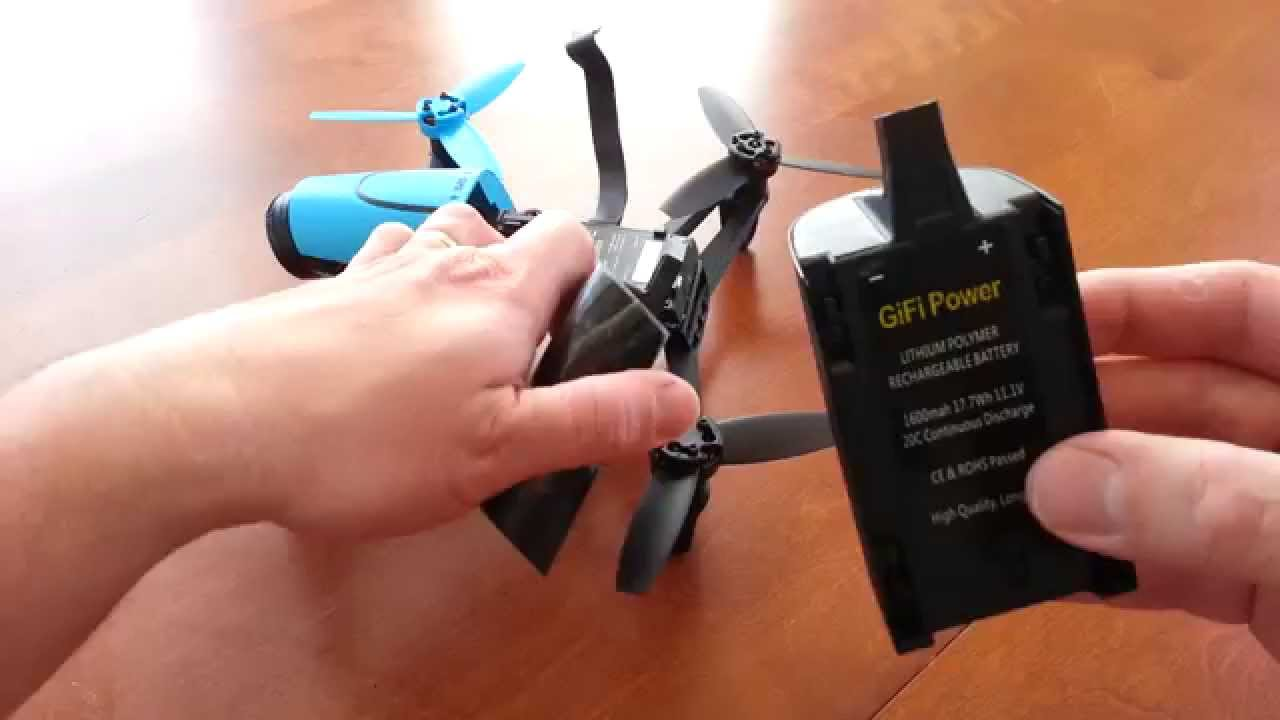 Do NOT Buy the GIFI Battery for the Parrot Bebop!