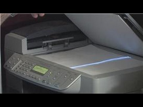 Computer Basics : How Does a Photocopier Work?