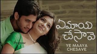 Ye Maya Chesave (2010) | Background Score | 10 years | A.R. Rahman | Gowtham Menon | Samantha |