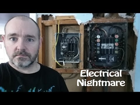 This is my Nightmare - Vlog Episode 44 - Vacation Day 01 - Electrical Problems, and Why Me?