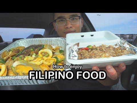 How to enjoy FILIPINO FOOD *MUKBANG