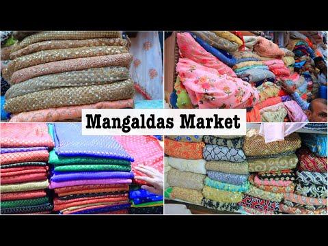 Biggest Wholesale Clothes Market | Mangaldas Market Mumbai | Biggest Kapda Market of Mumbai