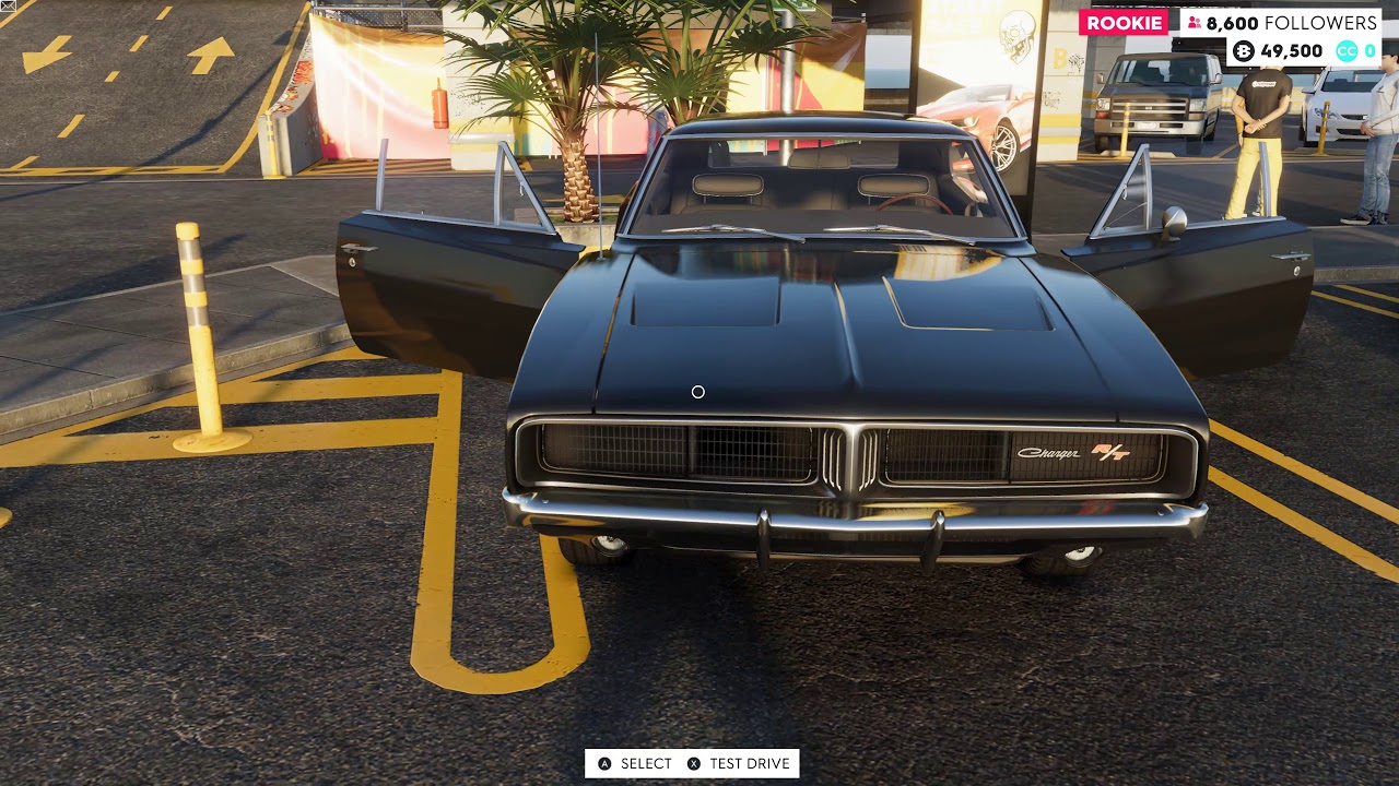 The Crew 2 1969 Dodge Charger R T Hemi Street Race Car Test