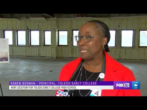 New location for Toledo Early College High School