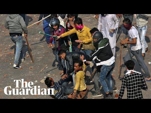 Delhi Protests: India's Worst Religious Violence In Decades