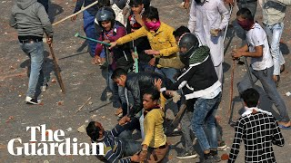 Delhi protests: India's worst religious violence in decades
