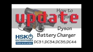 Dyson DC-31 Battery Charger Repair Update