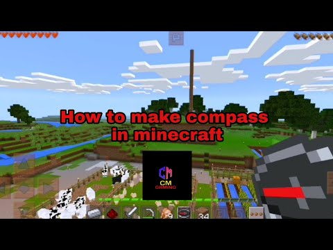 how-to-make-compass-in-minecraft