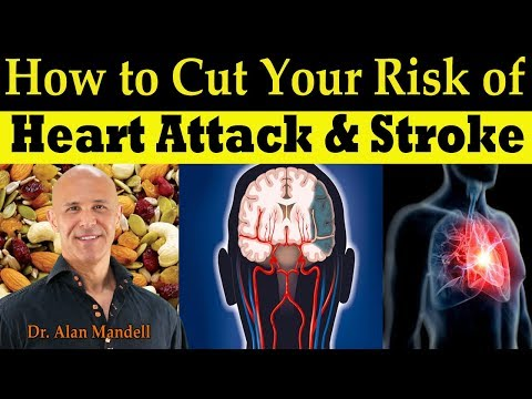 Just A Handful of These Will Cut Your Risk of Heart Attack & Stroke - Dr Alan Mandell, DC