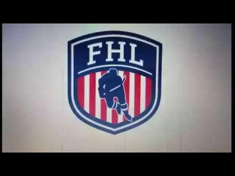 Nicholas Lang - FHL professional hockey game