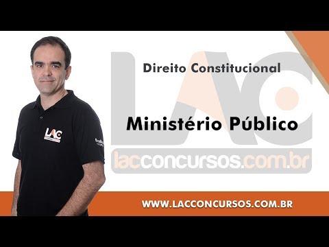 Ministério Público - Direito Constitucional