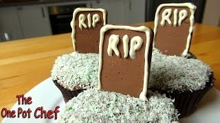 Tombstone Cupcakes | One Pot Chef