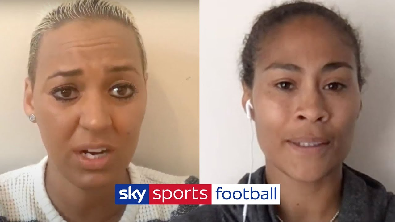 Rachel Yankey & Lianne Sanderson's emotional account of their own experiences of racism