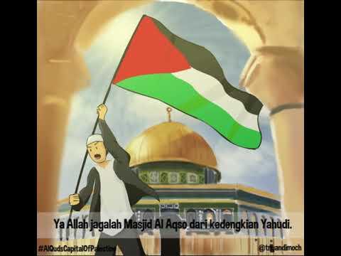 Animasi Doa Syeikh Abdul Aziz Alareqi Untuk Masjid Al Aqsha