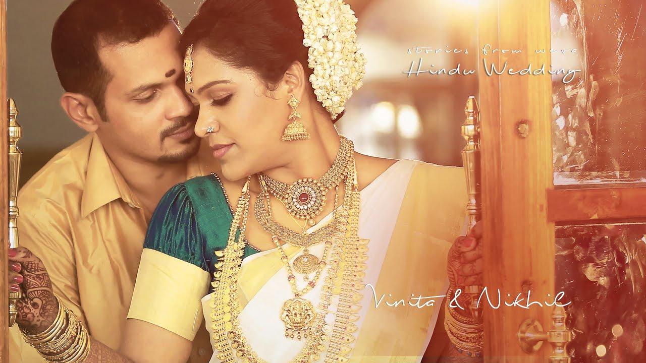 Wedding Video Of Vinita Nikhil At Tdm Hall Ernakulam Youtube