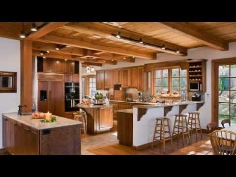 Gallery Of Riverbend Timber Frame Home Kitchens Youtube