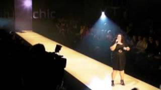 Natalie Colavito City Chic fashion show Thumbnail