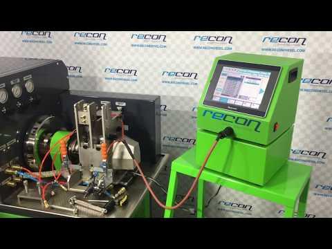Siemens 2 Unit Injectors test on Cambox 550/2