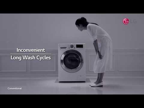 LG TWINWash - Fast and Clean Wash
