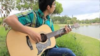 GUITAR TTB - A Letter Guitar solo ( Spring Time) - Yukie Nishimura - by Trong Tho Bi (手紙 西村 由紀江)