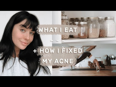 Full Day Of Healthy Eating | Curing Hormonal Acne Naturally