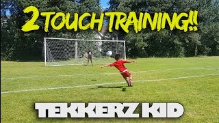 Adidas Two Touch Training!! | Romello Has A Channel!! | Tekkerz Kid