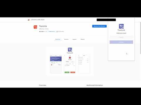 How To Install Tron Link Wallet On Google Chrome