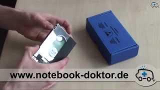 2,5 Zoll Festplatten Tausch / SSD einbauen (Notebook / Laptop)