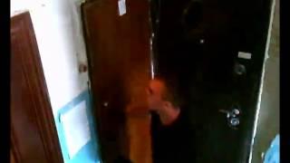 Задержание квартирных воров. Скрытая камера