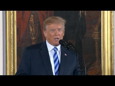 President Donald Trump hosts Public Safety Medal of Valor awards ceremony | ABC News